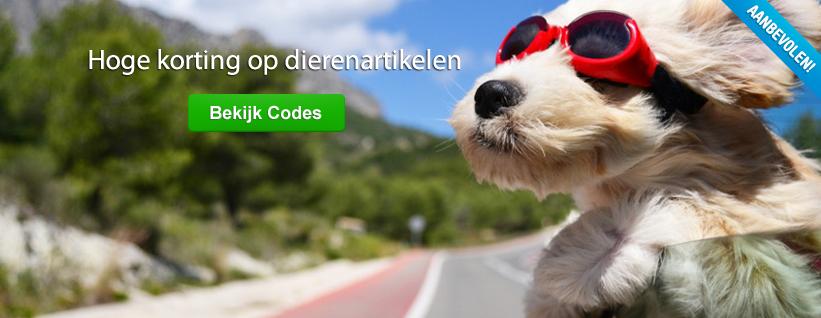 Kortingscodes voor je Huisdier.